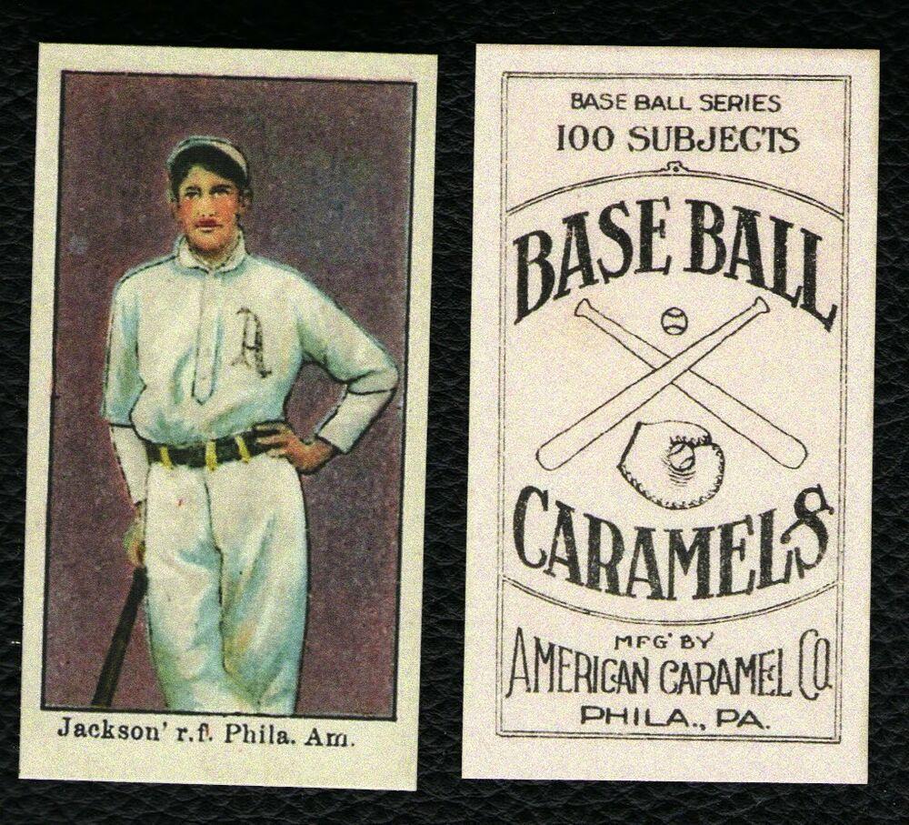 1909 American Caramel E90-1 Joe Jackson