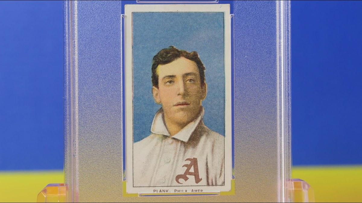 1909 T206 Eddie Plank