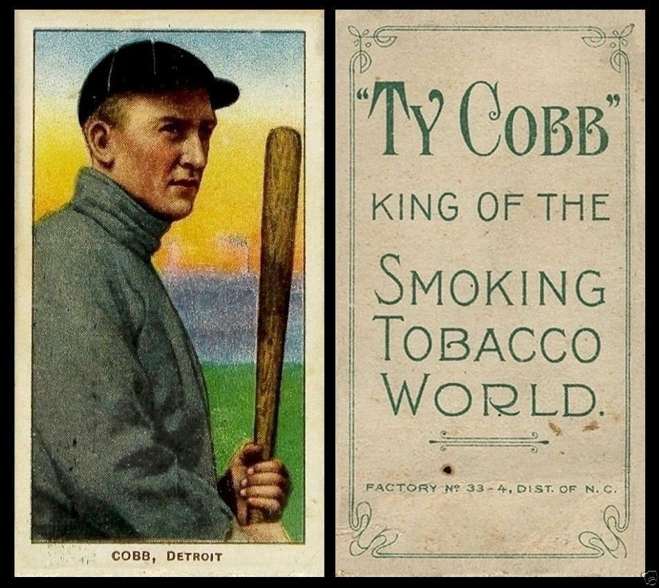 1909 T206 Ty Cobb