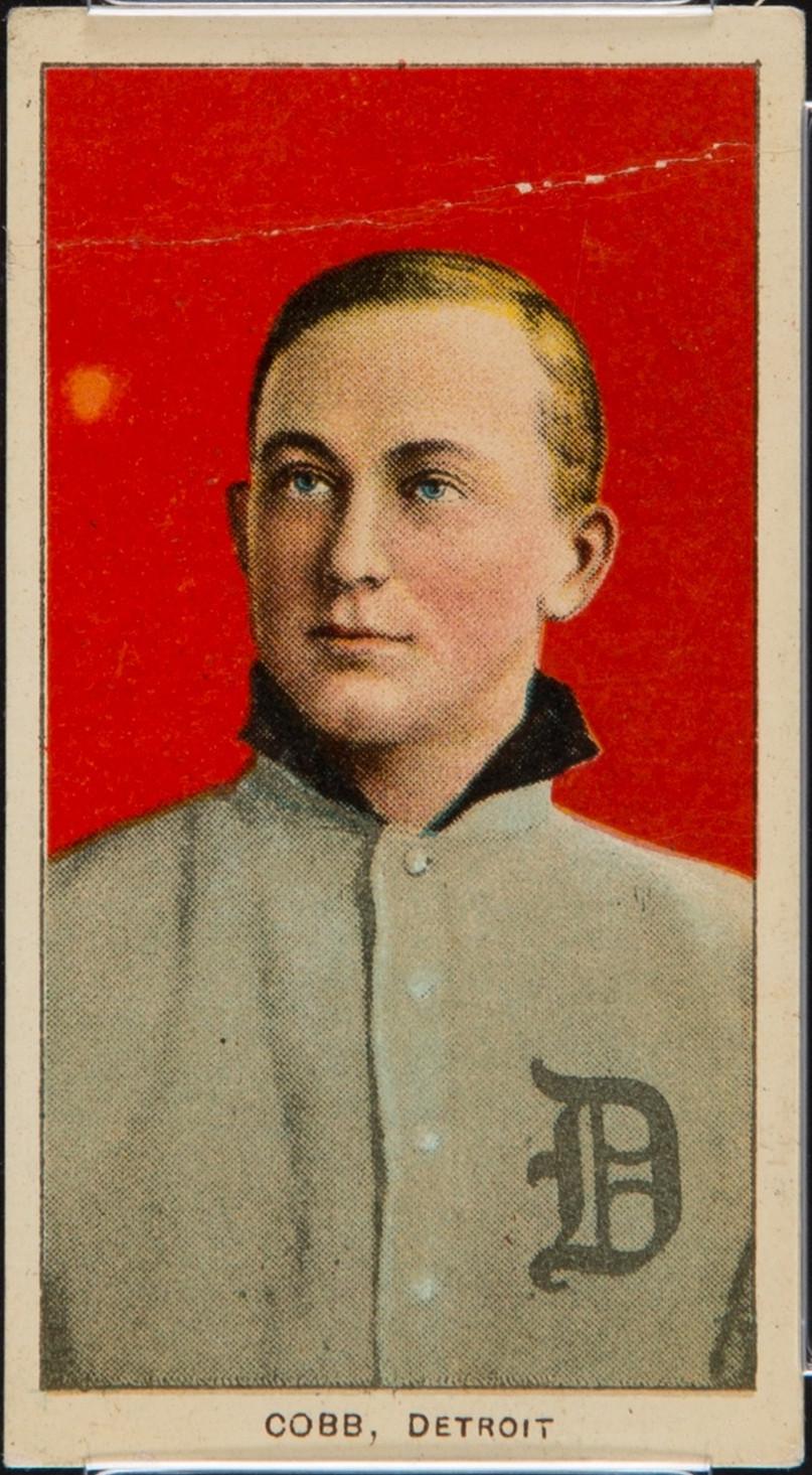 1909 T206 Ty Cobb card