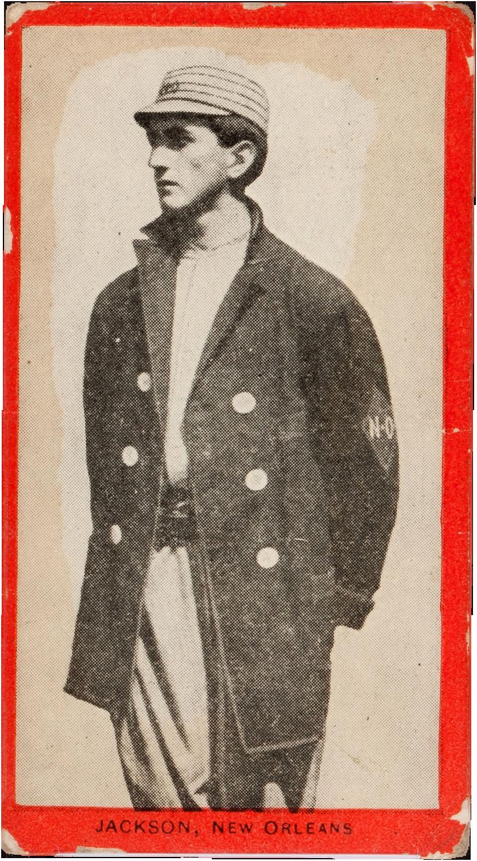 1910_T210_Old_Mill_Series_8_Joe_Jackson valuable baseball cards