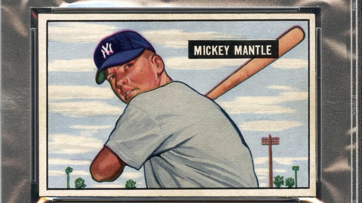 1951 Bowman Mickey Mantle