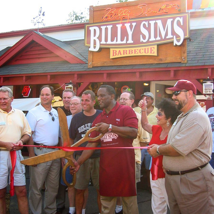 Billy Sims BBQ grand opening in Tulsa OK