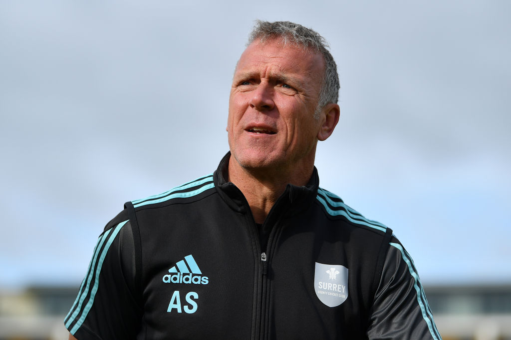 alec stewart scored as many runs as his birthday