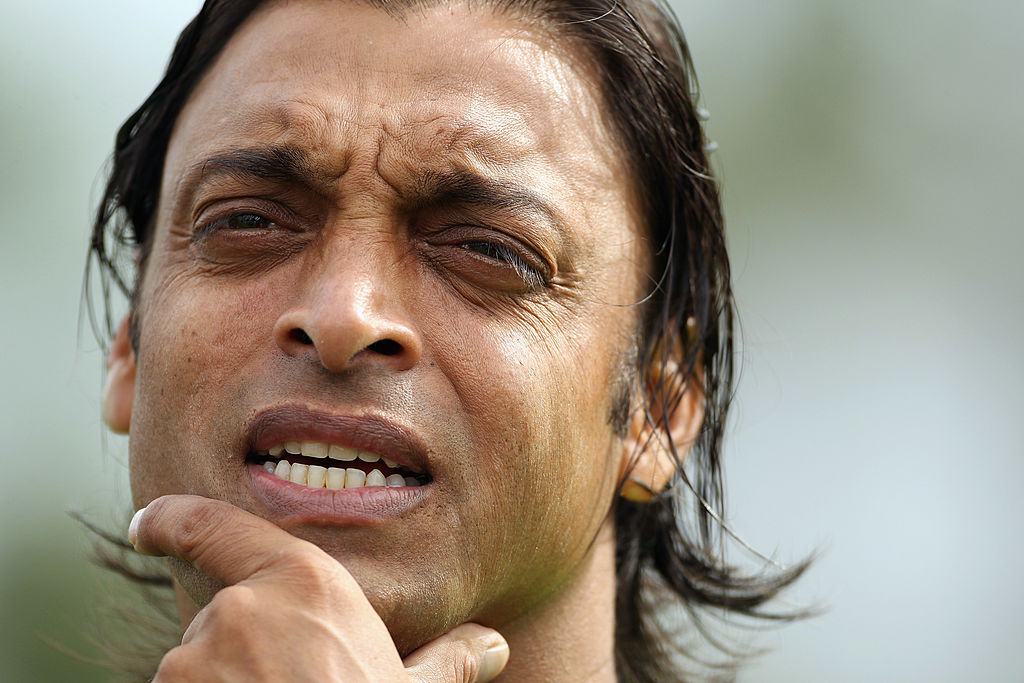 Shoaib Akhtar bowled the fastest ball in cricket history