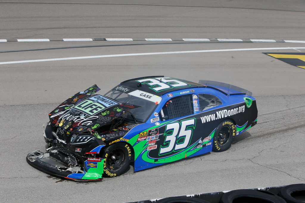 nascar fans love wrecks because they are so exciting