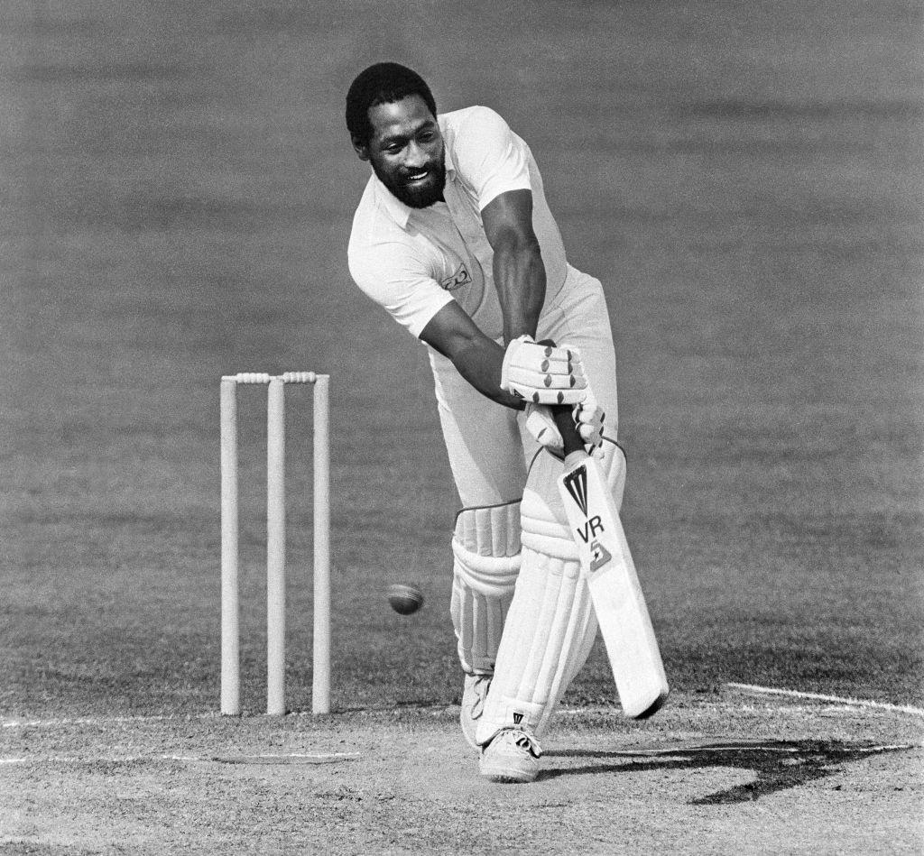 Viv Richards batting for Somerset at Taunton