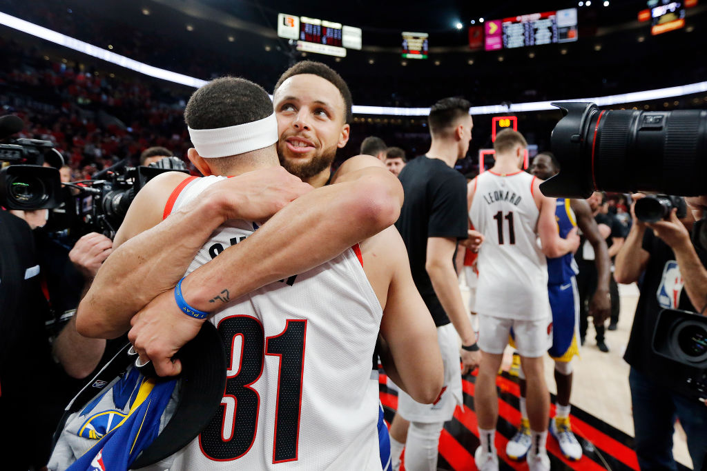stephen curry and seth faced off in the 2019 western conference finals