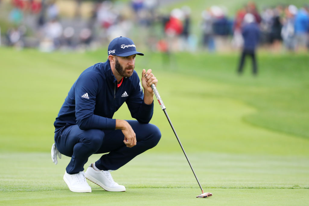 dustin johnson all time golf winnings