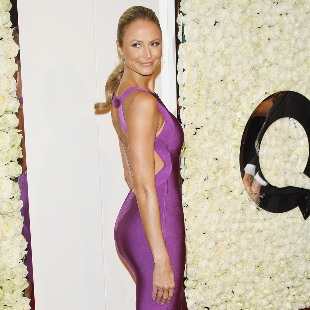 Stacy Keibler arrives at the QVC