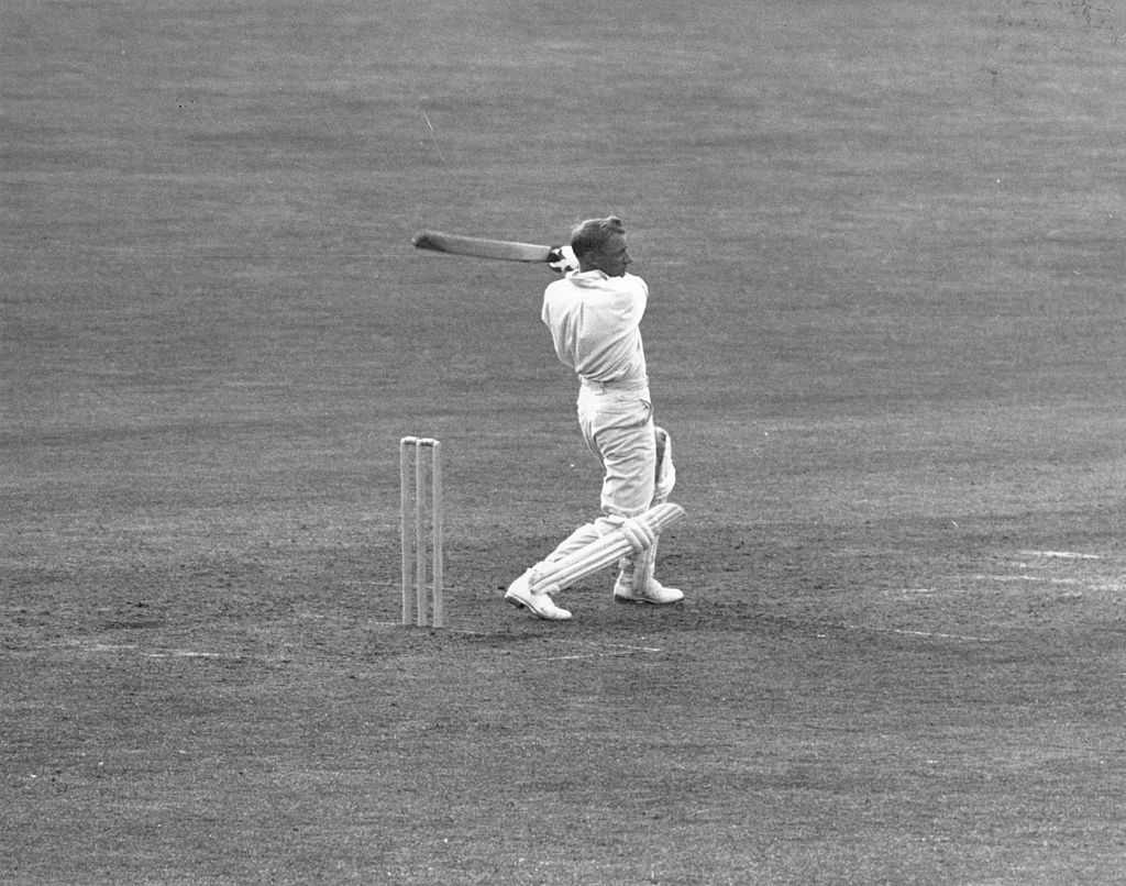 don bradman only had six sixes during his cricket career