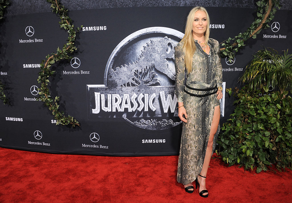 Lindsey Vonn arrives for the Premiere Of Universal Pictures'
