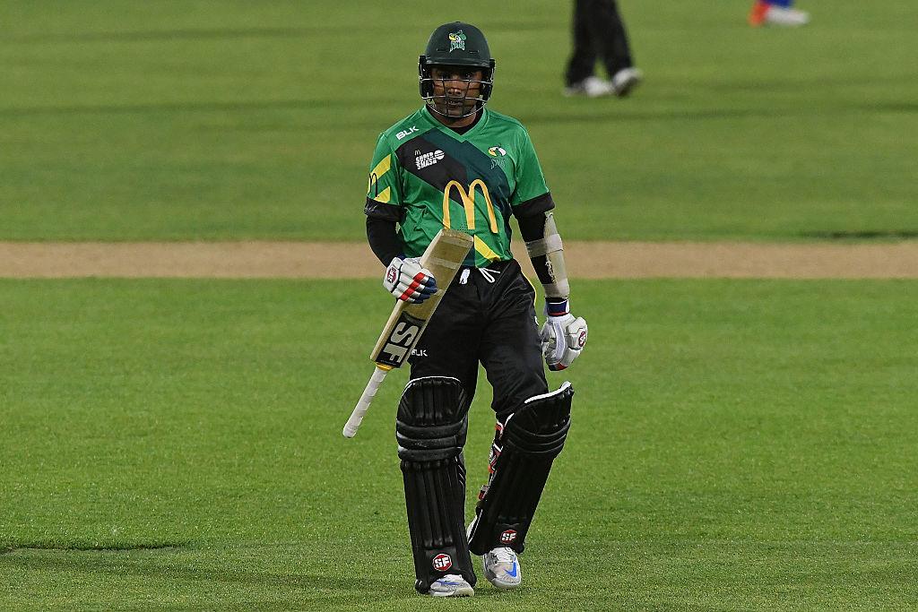Mahela Jayawardene scored a century during the cricket world cup