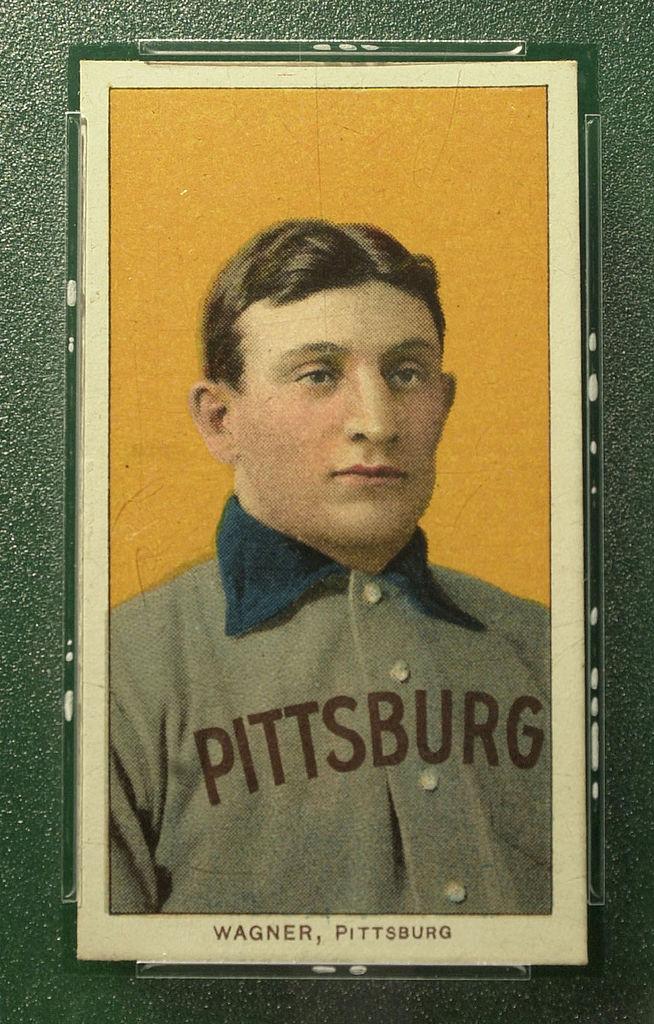 1909 T206 Honus Wagner: