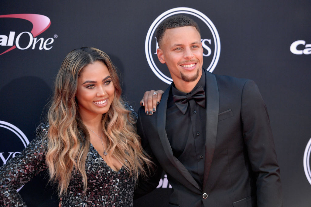 stephen curry and ayesha curry got married after he was drafted