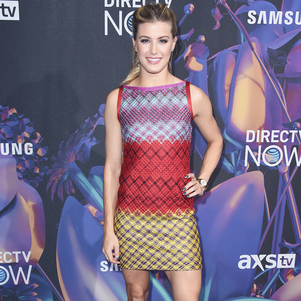 Eugenie Bouchard attends the 2018 DIRECTV NOW Super Saturday Night Concert at NOMADIC LIVE!