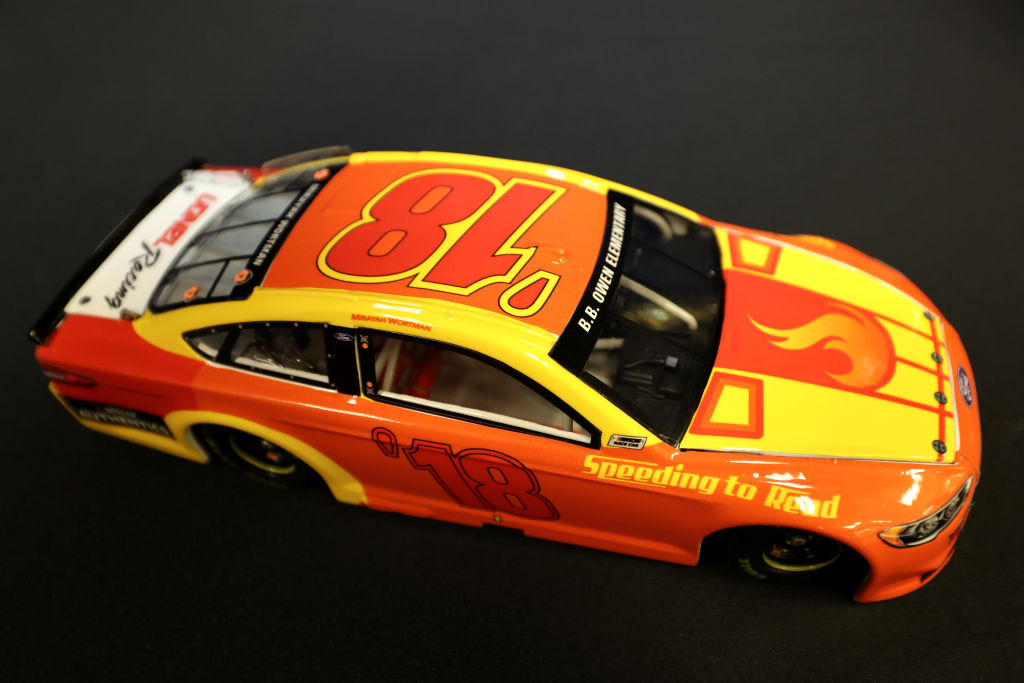 nascar diecast car not toy