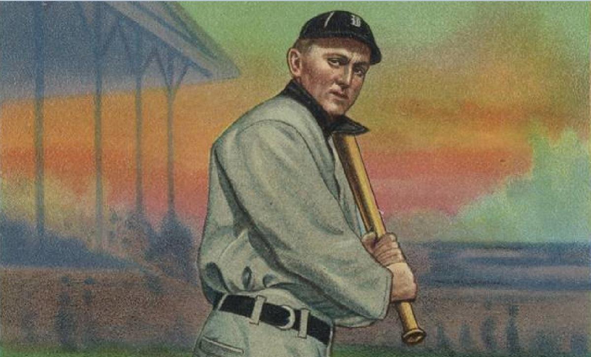 ty cobb 1911 card