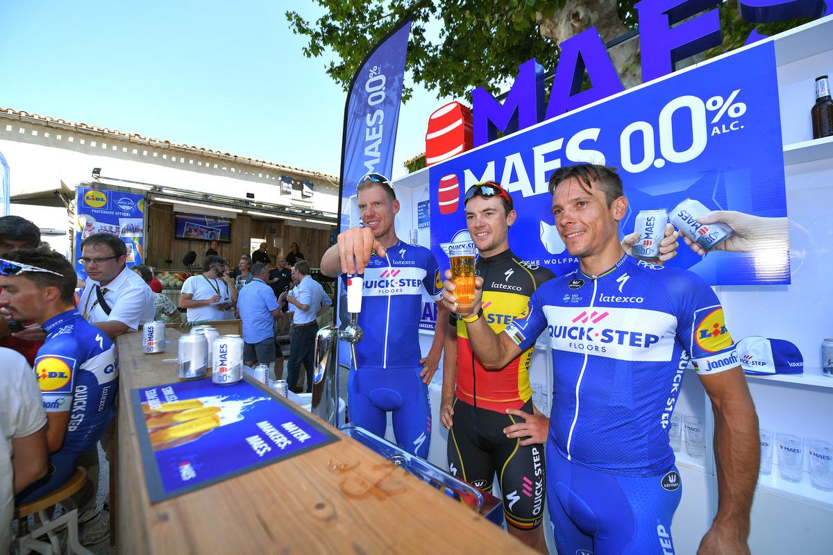 Cycling: 105th Tour de France 2018 / PC Team Quick-Step Floors