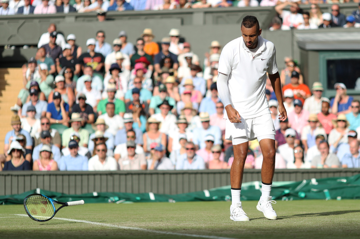 2019 Wimbledon Tennis tournament Day 4 July 4th
