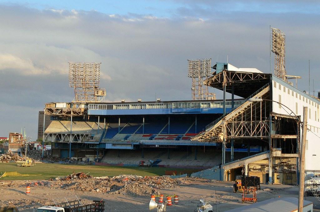 Tiger Stadium abandoned photo