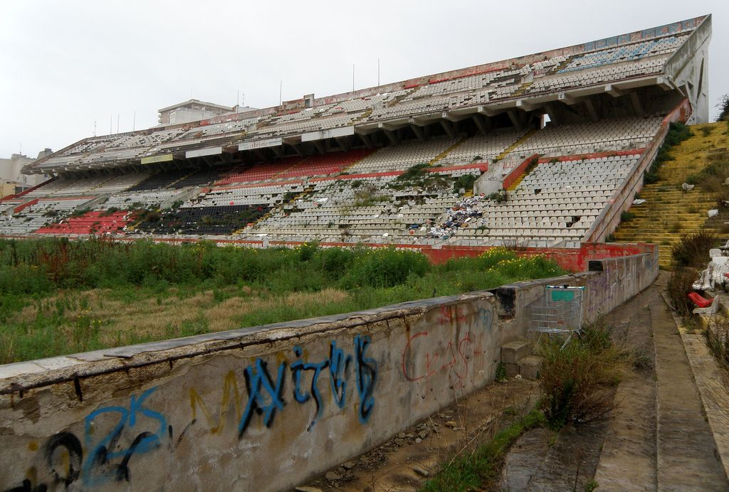 Estadio Lluis Sitjar abandoned stadium