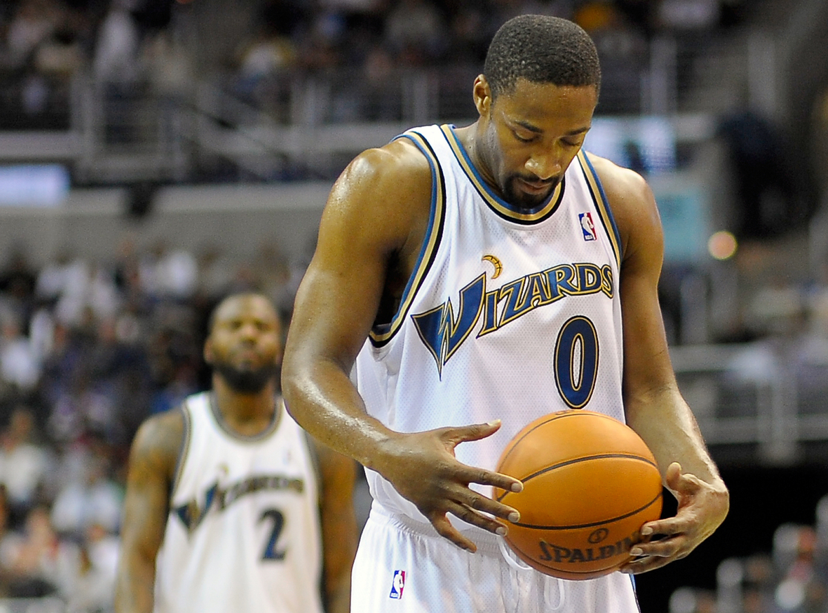 gilbert arenas worst nba contracts all time