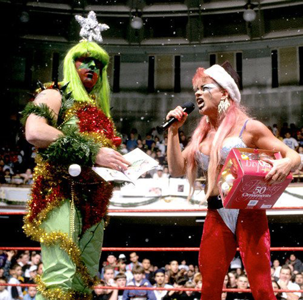 the artist formerly known as goldust during christmas