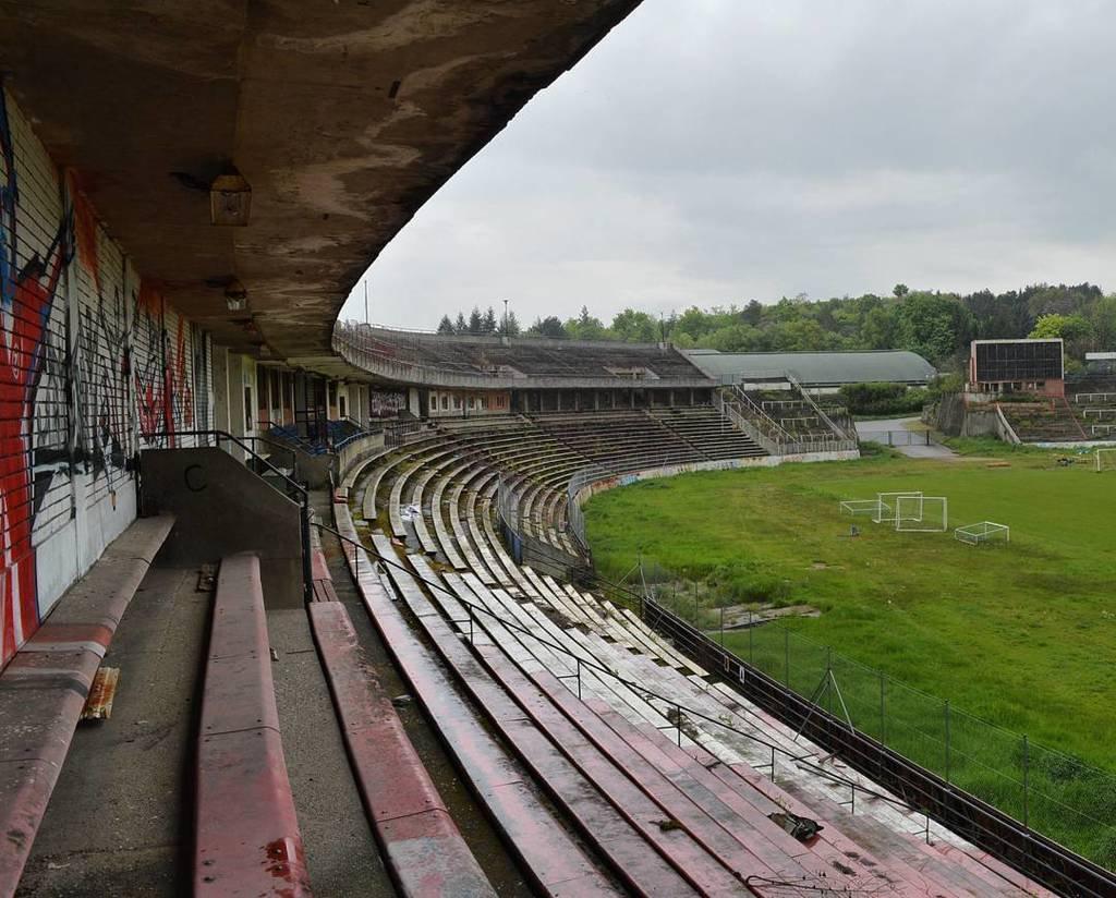 Stadion za Luzankami abandoned