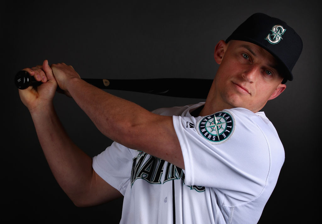 Kyle Seager #15 of the Seattle Mariners poses for a portrait during photo day at Peoria Stadium on February 18, 2019 in Peoria, Arizona-1130523721