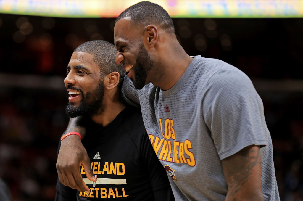 irving and lebron james -648067618
