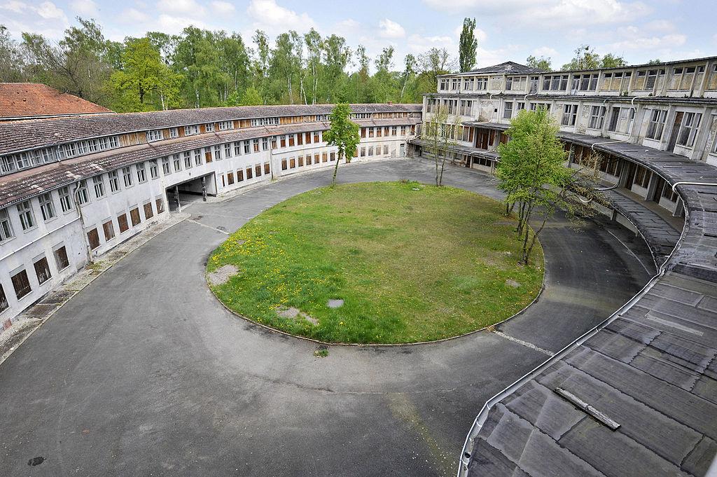 olympic village germany abandoned stadium