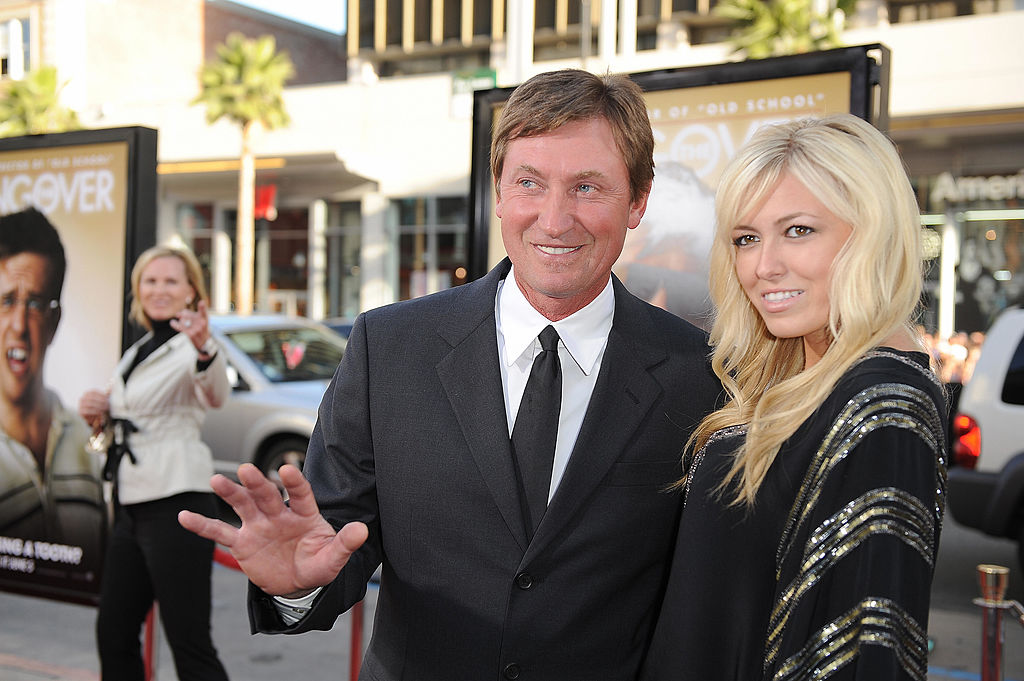 wayne and paulina gretzky at a red carpet event
