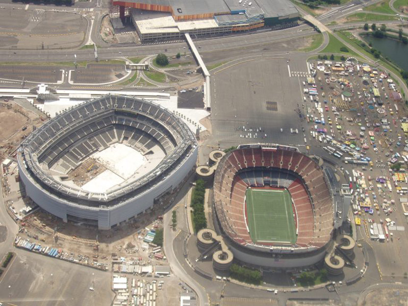 giants stadium in new york abandoned nfl football stadium