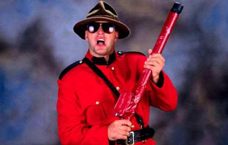 the mountie worst wwe costumes