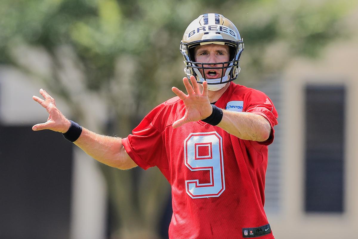 NFL: MAY 23 New Orleans Saints OTA