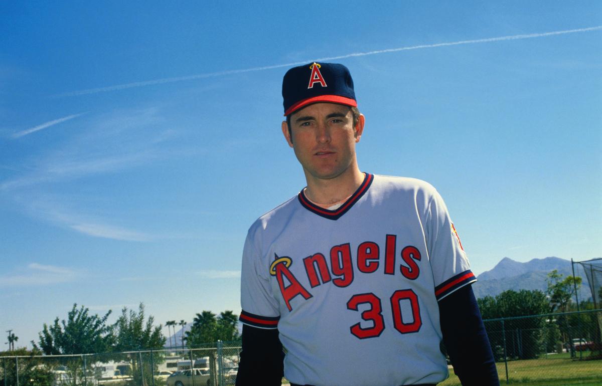 Baseball Player Nolan Ryan