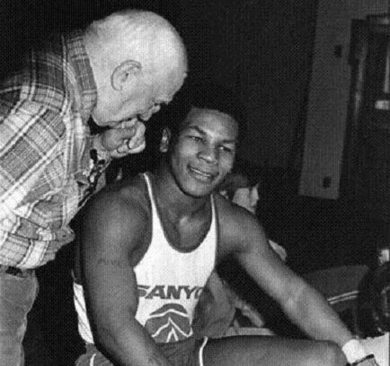 a look at a young mike tyson