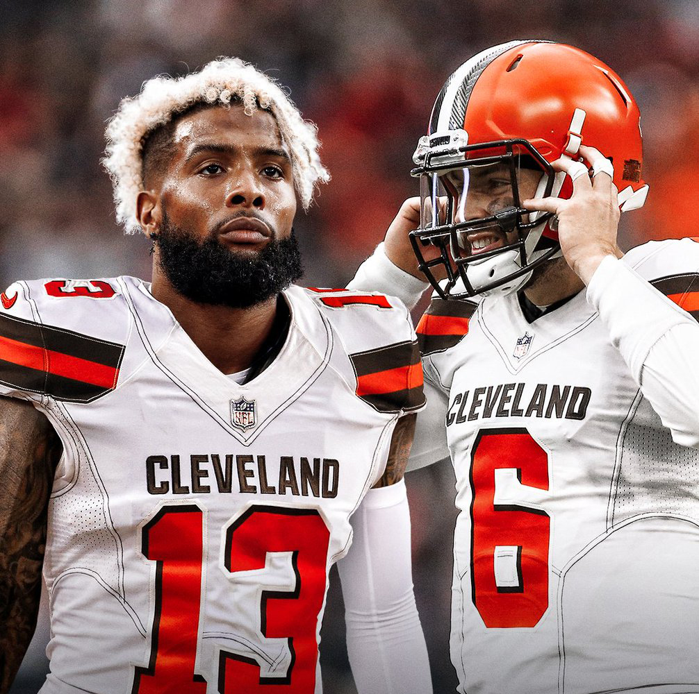 OBJ and Baker Mayfield