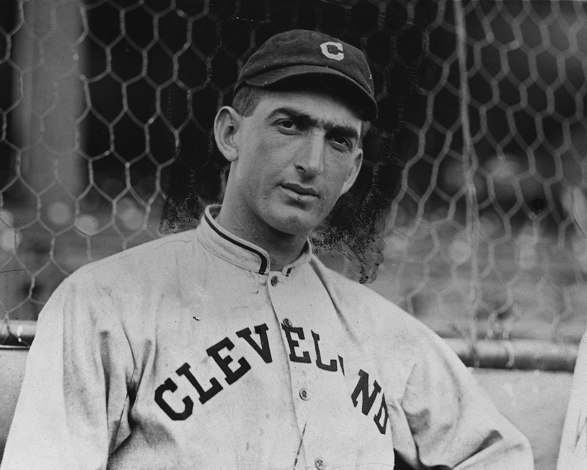 Joe Jackson when he played for the Cleveland Indians.