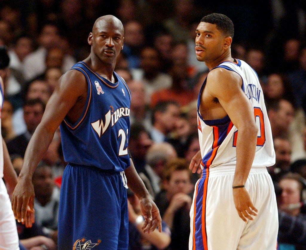 michael jordan and allan houston