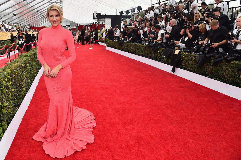 Charissa Thompson on the red carpet