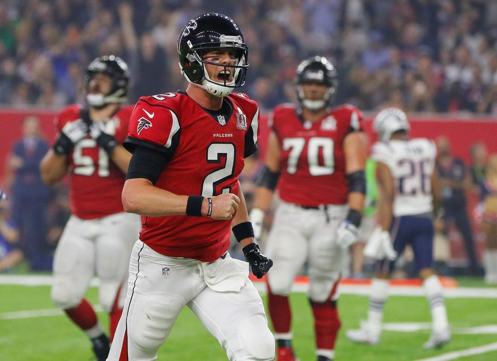 Matt Ryan #2 of the Atlanta Falcons