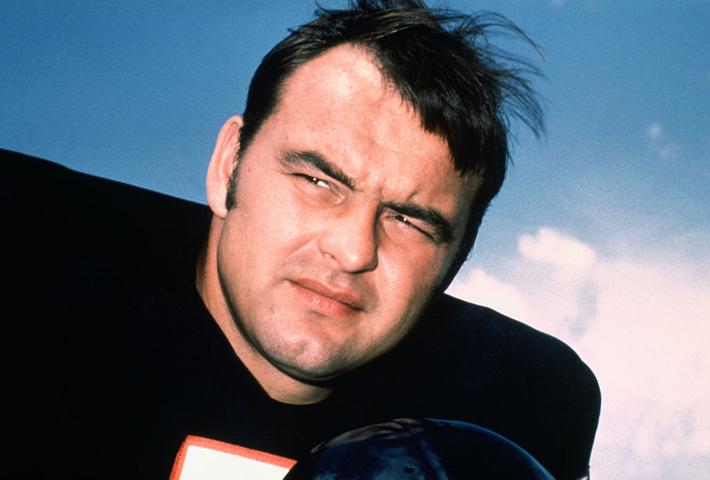 Dick Butkus played linebacker for the Chicago Bears.