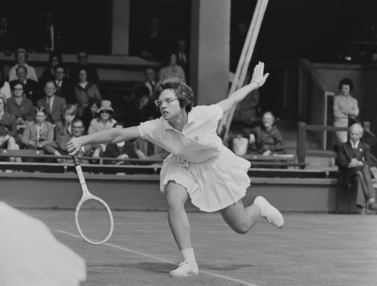 Billie Jean King Wightman Cup 1964