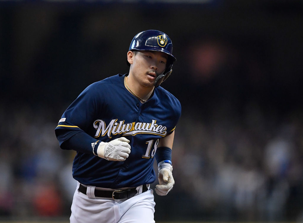 keston hiura mlb rookie season
