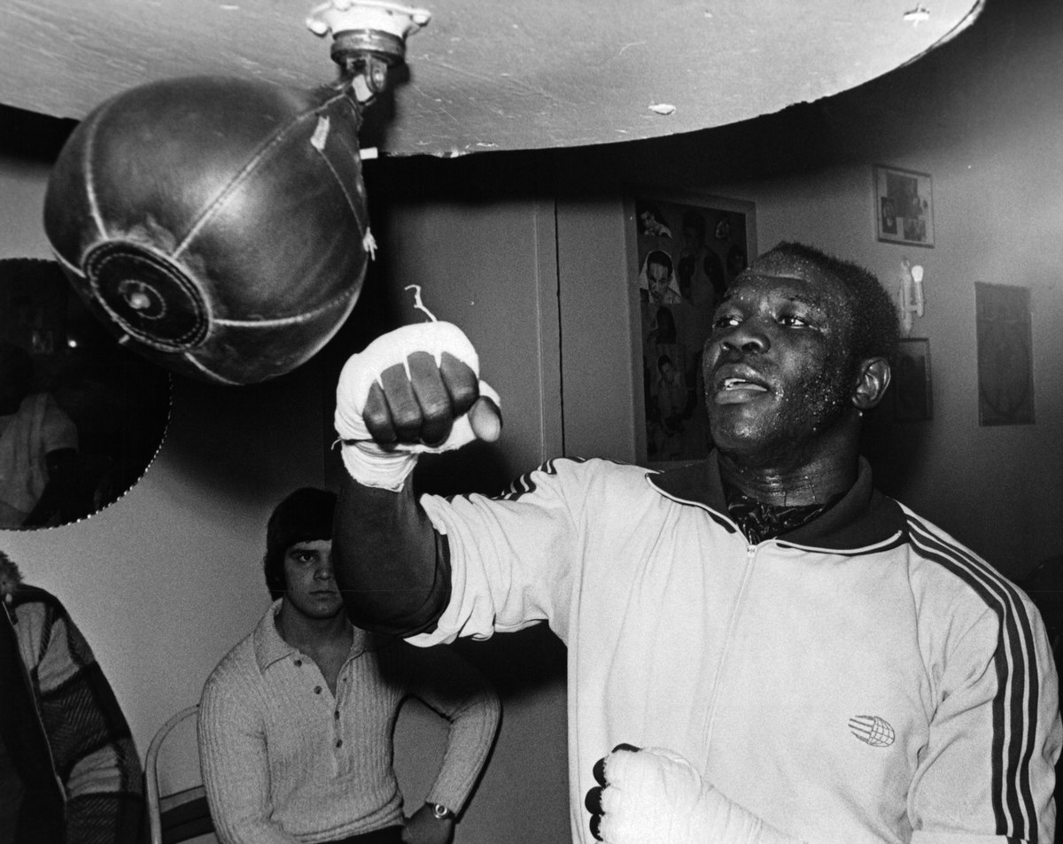 boxer Emile Griffith 1960