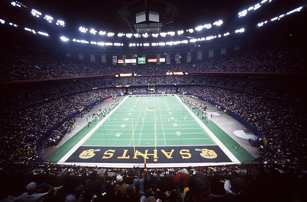 mercedes benz superdome worst in the nfl