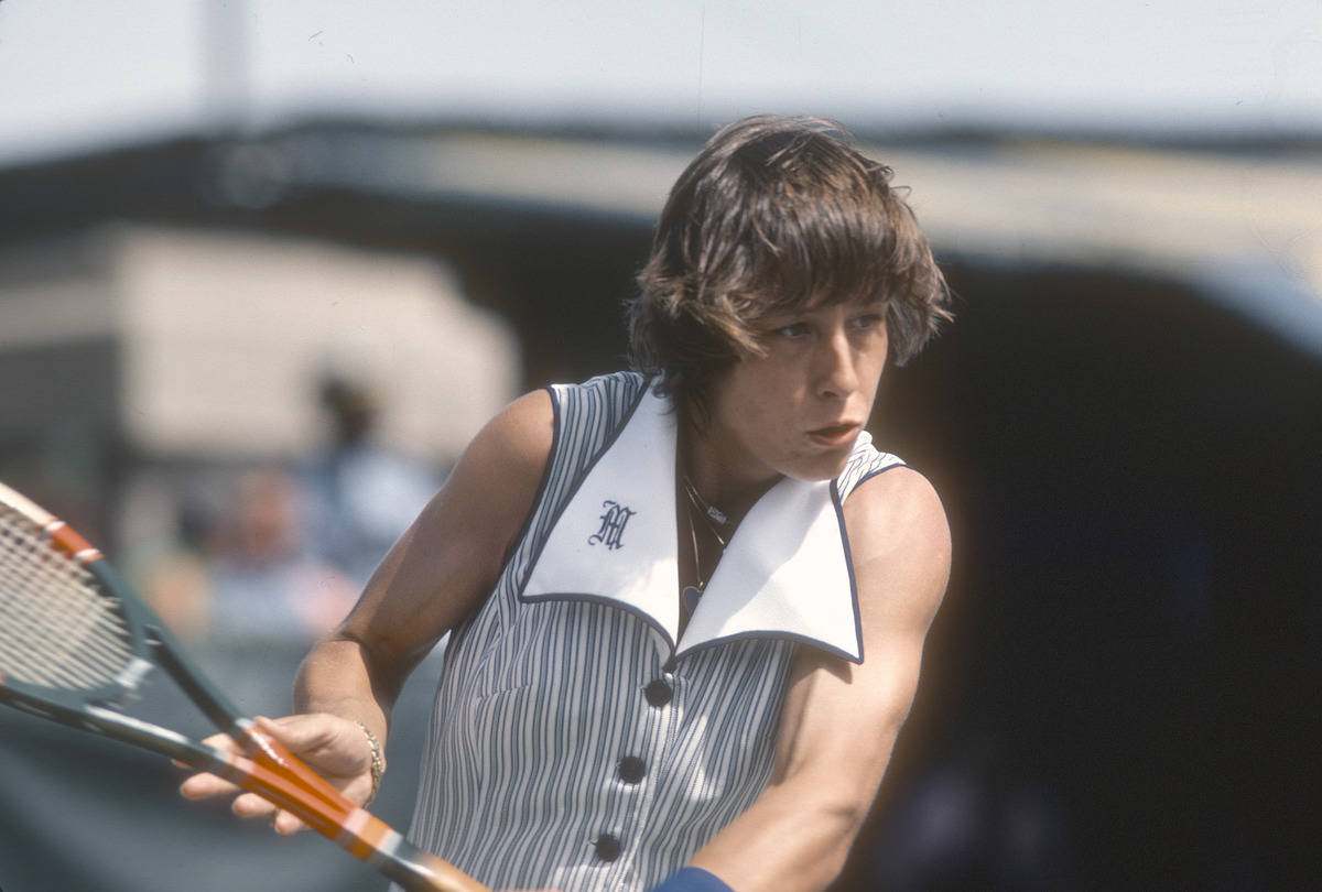 Navratilova 1977 US Open