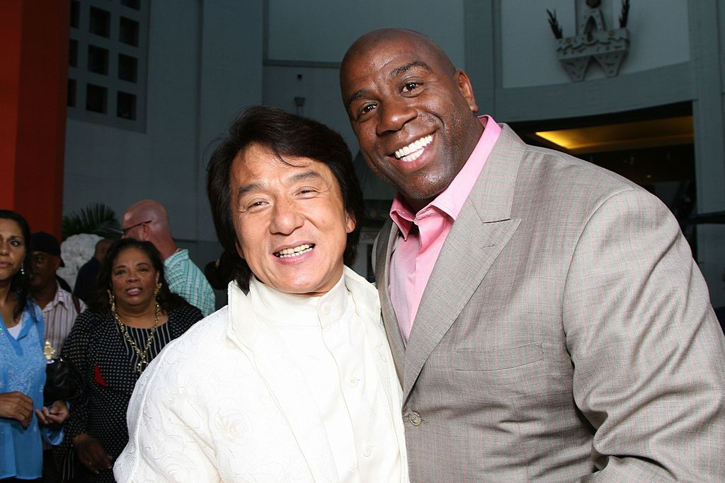 jackie chan magic johnson